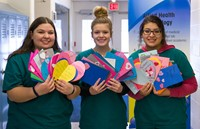AHT Students Spread Valentine Cheer