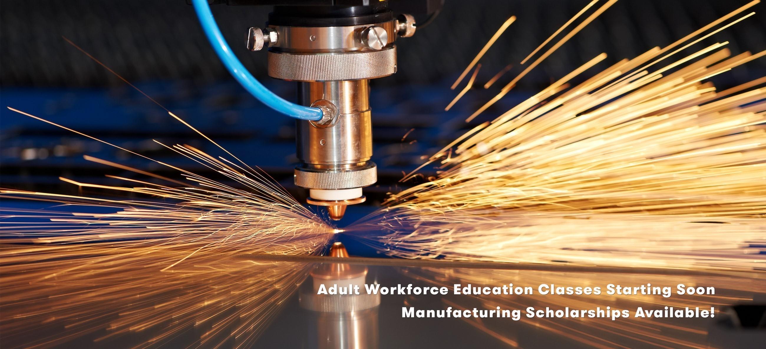 Adult Workforce Classes Start Soon