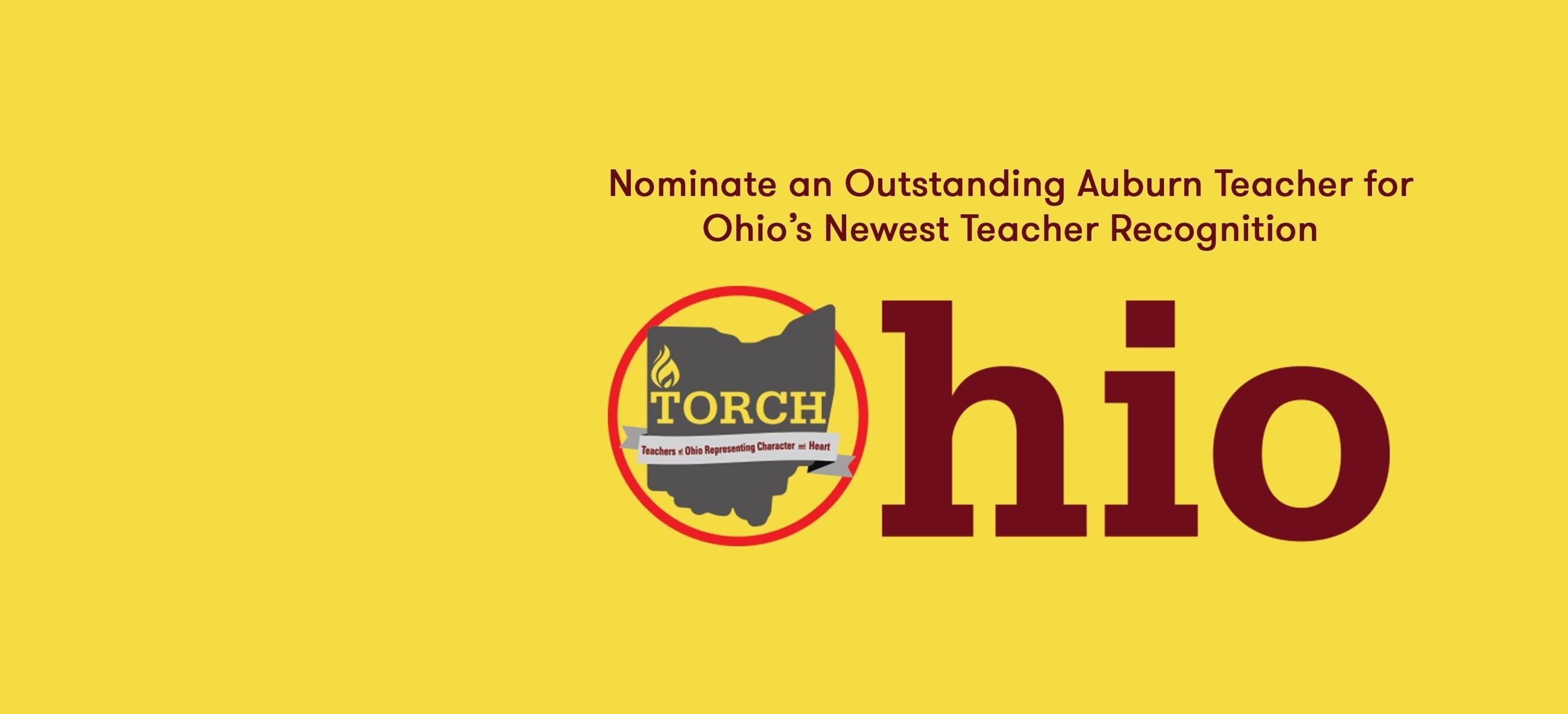 Ohio TORCH logo for teacher nomination