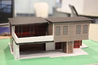 small model of a house